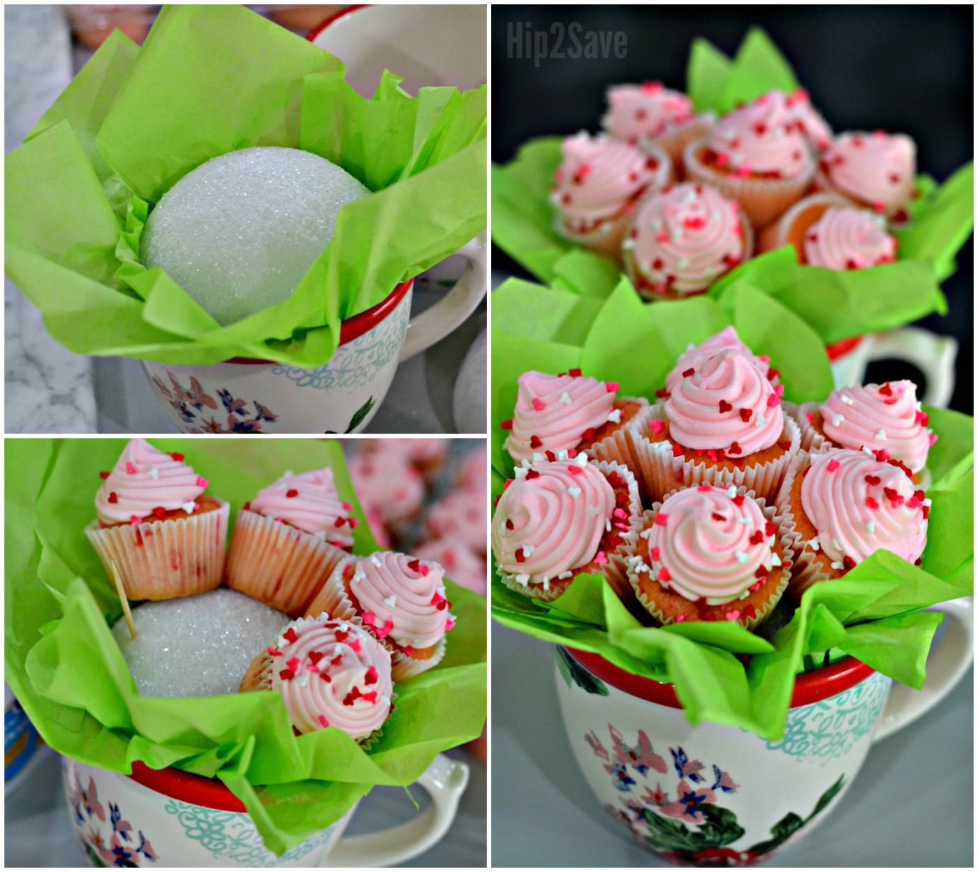 Diy Mini Cupcake Flower Bouquets Fun Unique Gift Idea Mini
