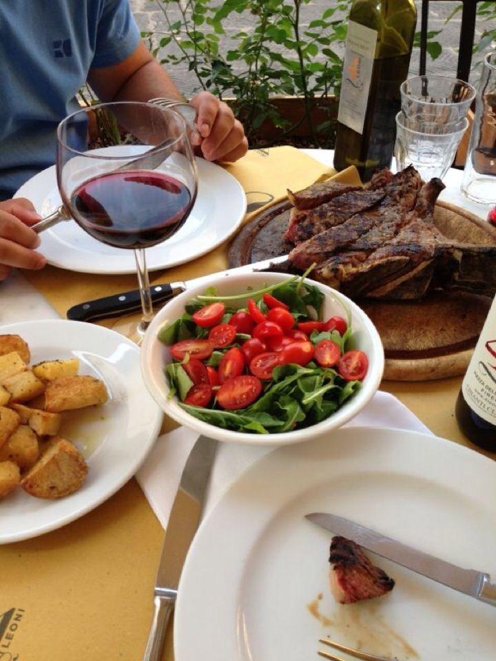 Trattoria 4 Leoni in 2019 The F Blog Steak, Meat, Beef
