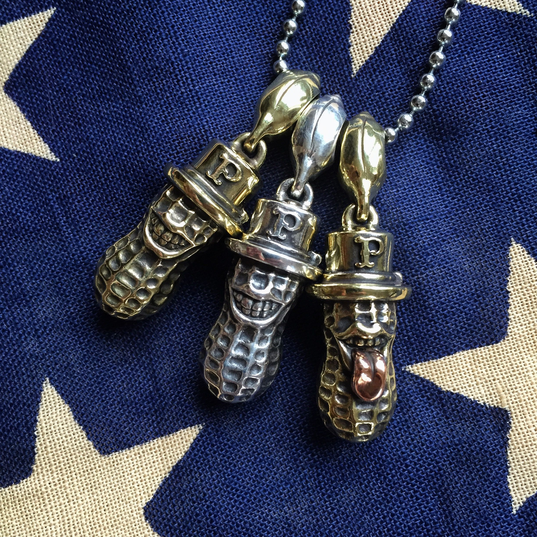 Peanuts & Co. (bero, yachimata, silver, brass, copper, made in japan, pendant)