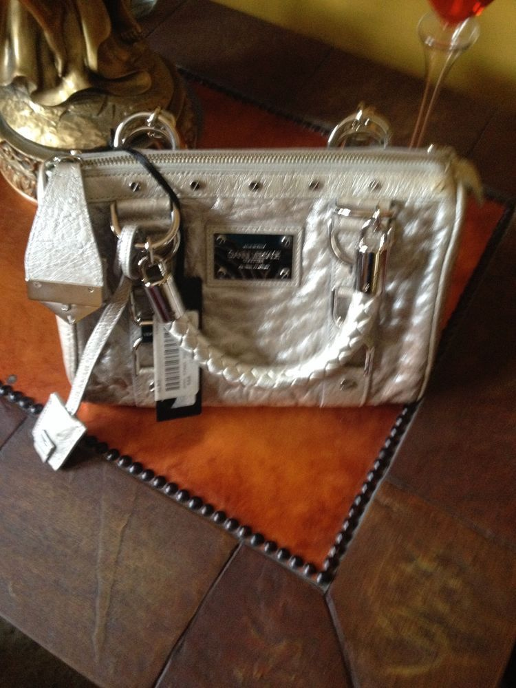 7ac4cb2631 New gianni versace ostrich couture small hand bag with tags  4530 ...