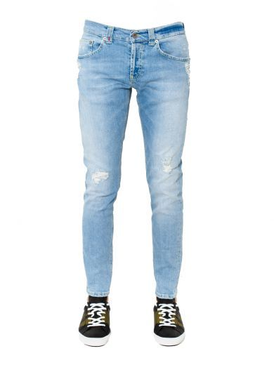 "DONDUP Dondup - Jeans ""Mius"" Effetto Consumato. #dondup #cloth #jeans"