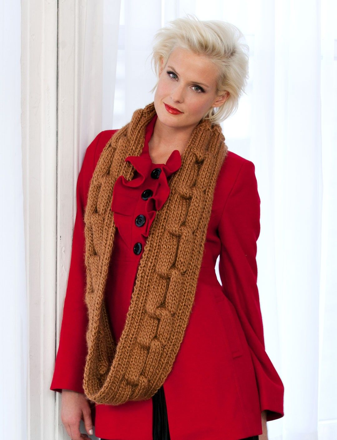 Knit Eternity Scarf | More knitting inspirations | Pinterest | Tejer ...