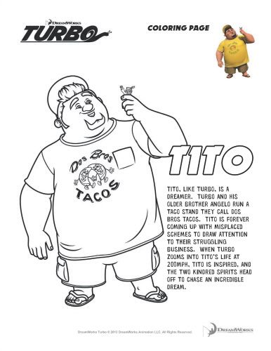 Turbo The Movie Coloring Pages Printable Coloring Pages Free