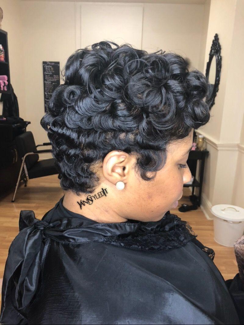yanistyledit ❤️ short cut with soft waves | hair | short