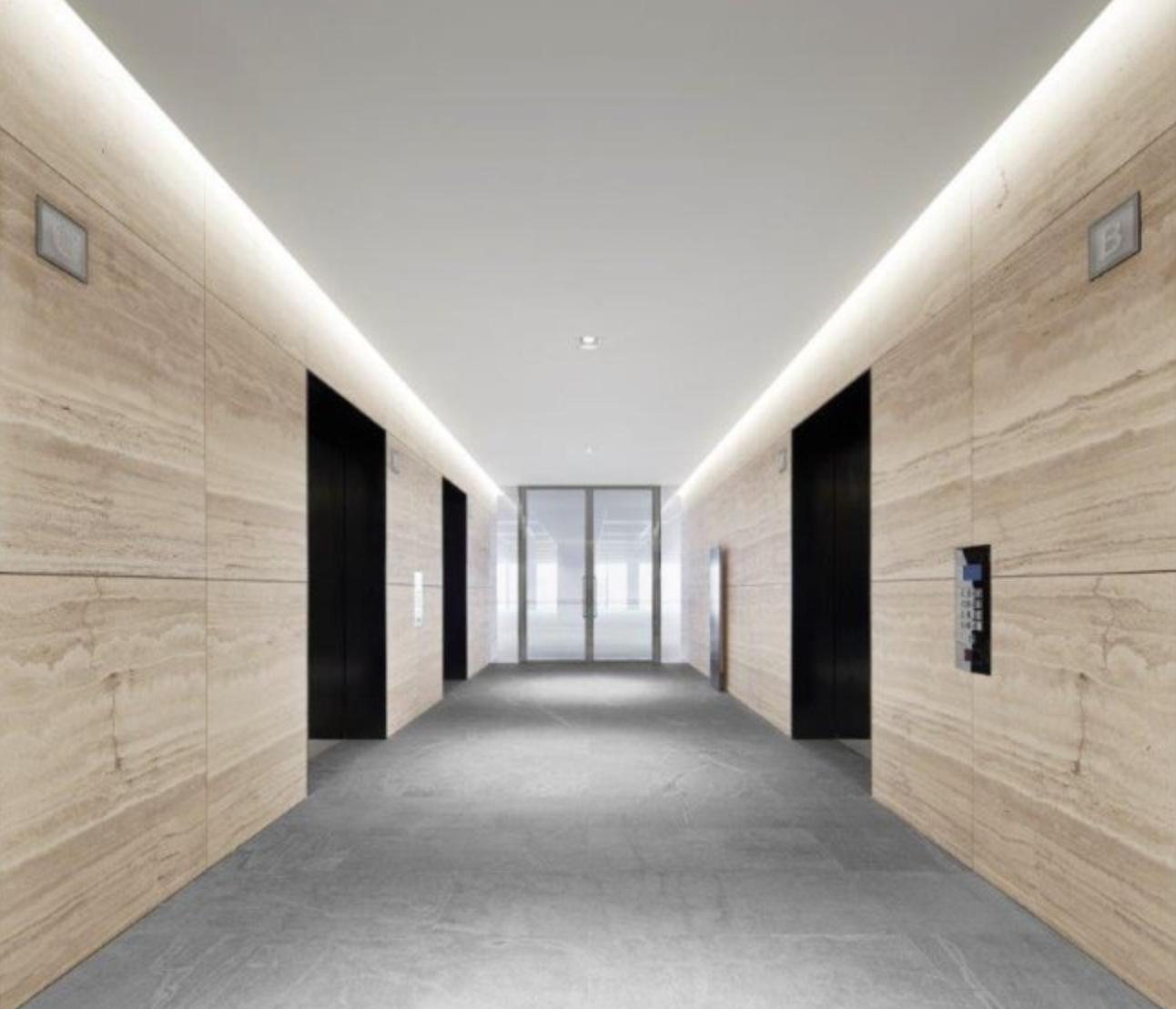 Office Entrance Foyer : Collins street lift foyer inspiration bathrooms