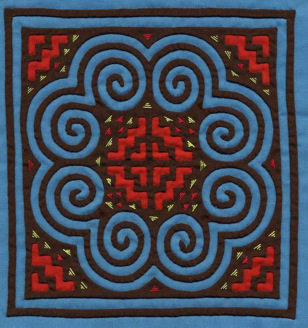 Hmong Elephant Print Design