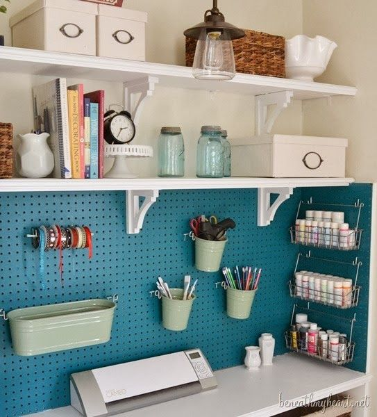 6th Street Design School: Feature Friday: Beneath My Heart Craft Storage  Closet. Love