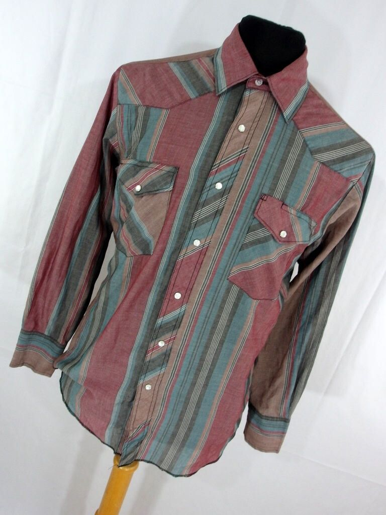 A personal favorite from my Etsy shop https://www.etsy.com/listing/520392957/vintage-wrangler-mens-shirt-m-medium