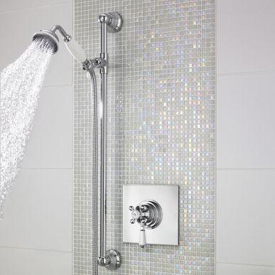 Dazzling Bathroom Tiles Bathroom Makeover Tile Bathroom Shower Valve