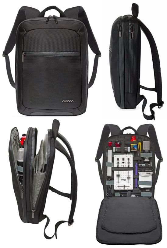 """0468ed75305 Cocoon introduces """"the world s most intelligent backpack"""" — The Gadgeteer"""