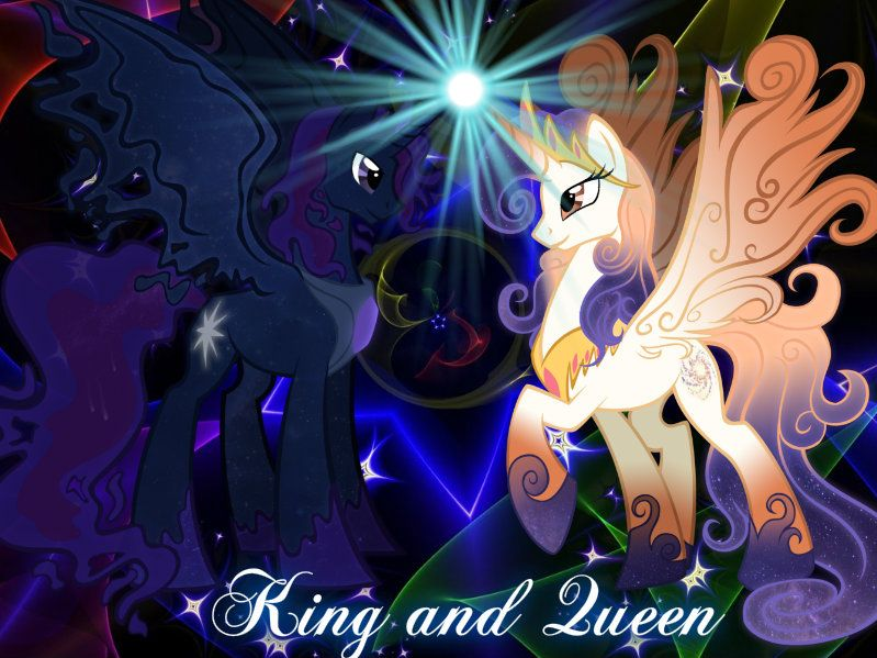 King Cosmos and Queen Galaxia | my little pony | Pinterest ...