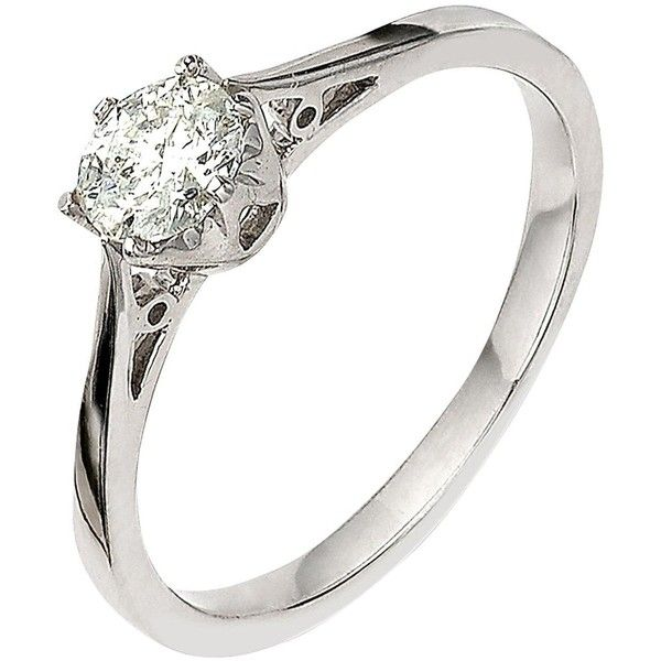 Miore Women's 9 ct Round Diamond Ring jH4HOB3