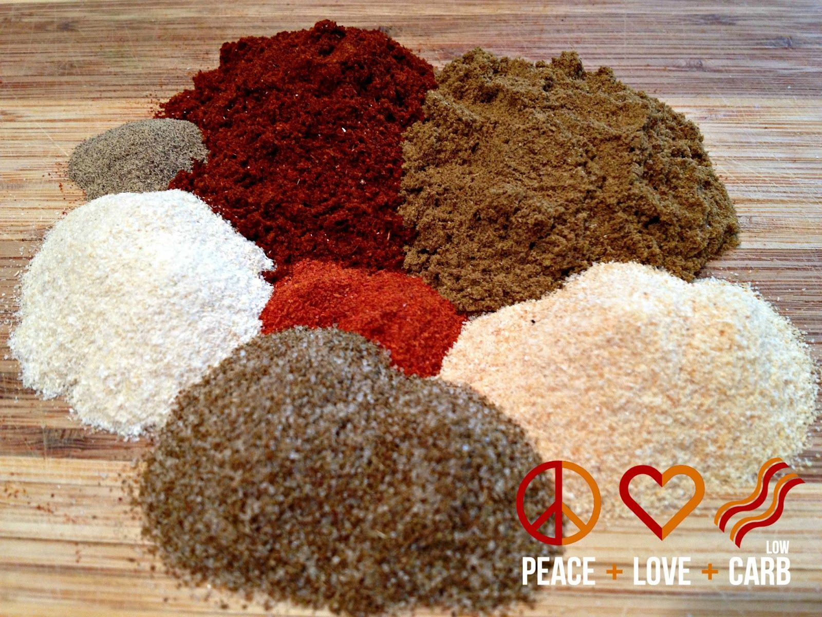 Low Carb Taco Seasoning | Peace Love and Low Carb