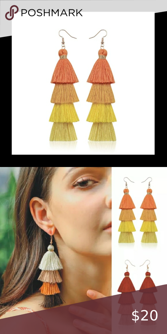 Orange Crush Earrings
