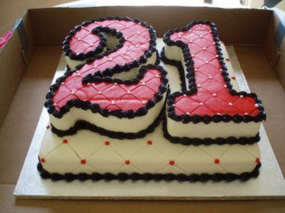 Image Result For 21st Birhtday Cake