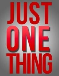 Just One Thing—Leader: To Thine Own Self Be True.