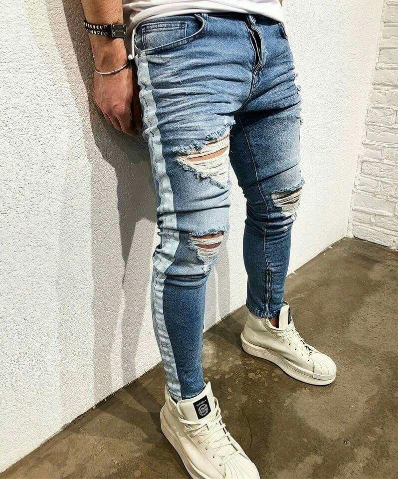 Pin De Johana Cabero En Moda Masculina Pantalones De Hombre Jeans Ropa Moderna Hombre Pantalones De Hombre