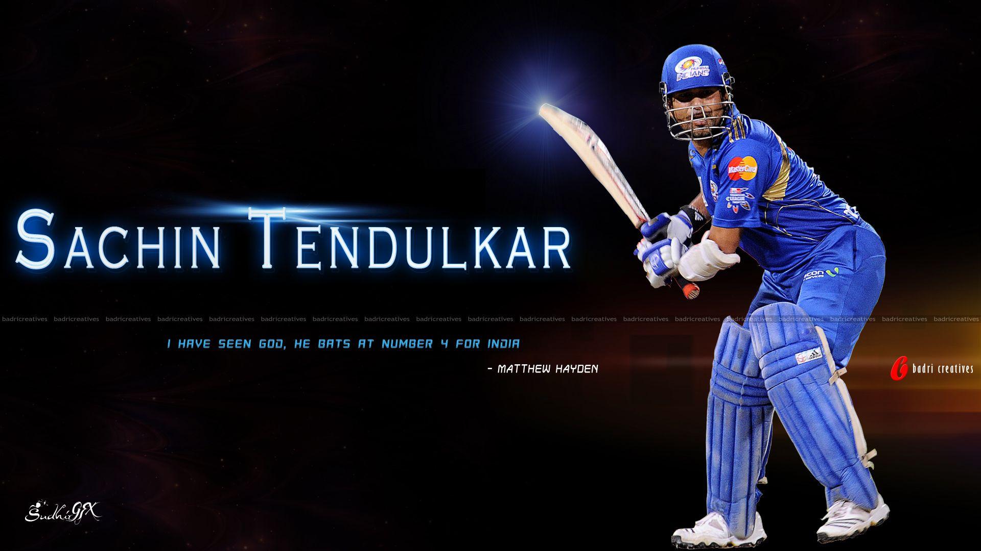 Sachin Tendulkar Hd Wallpaper Sports Hq Wallpapers Sachin