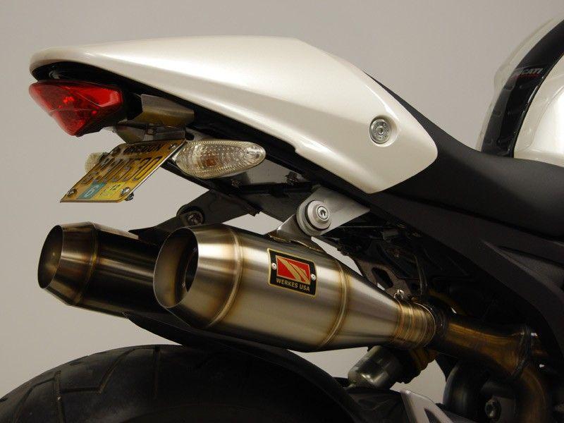 Competition Werkes GP Stainless Steel Slip-on Exhaust Ducati