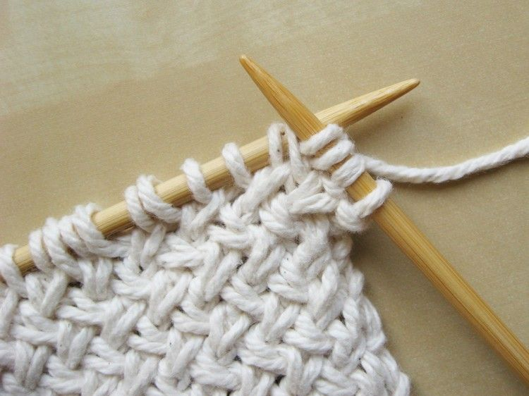 Diagonal Basketweave Knitting Pattern   Tejido, Tejidos de punto y ...