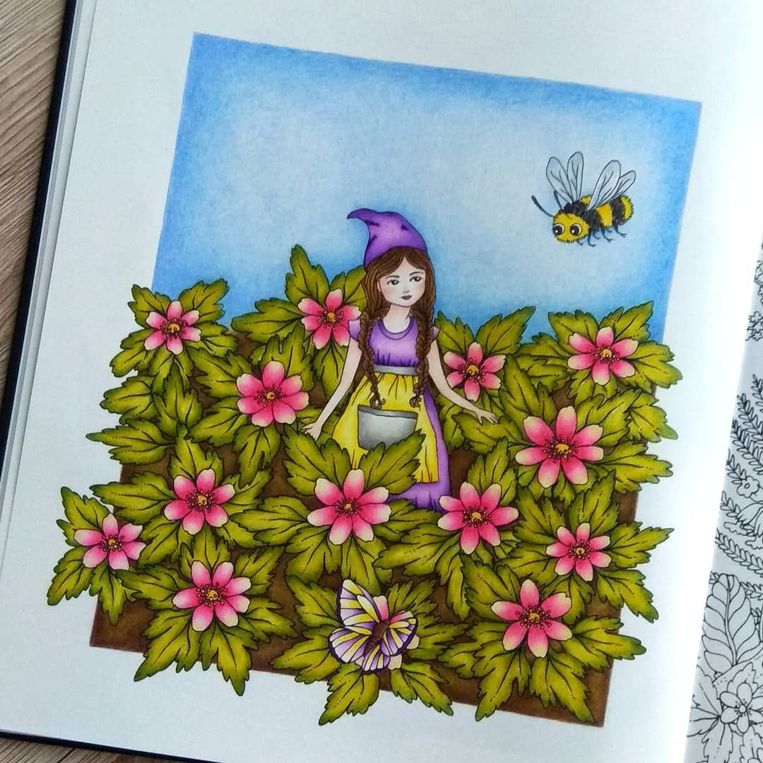 Botanicum By Maria Trolle Arteza Expert Colored Pencils With A Little Help From Faber Castell Polychromos I M Tot Coloring Books Arteza Colored Pencils
