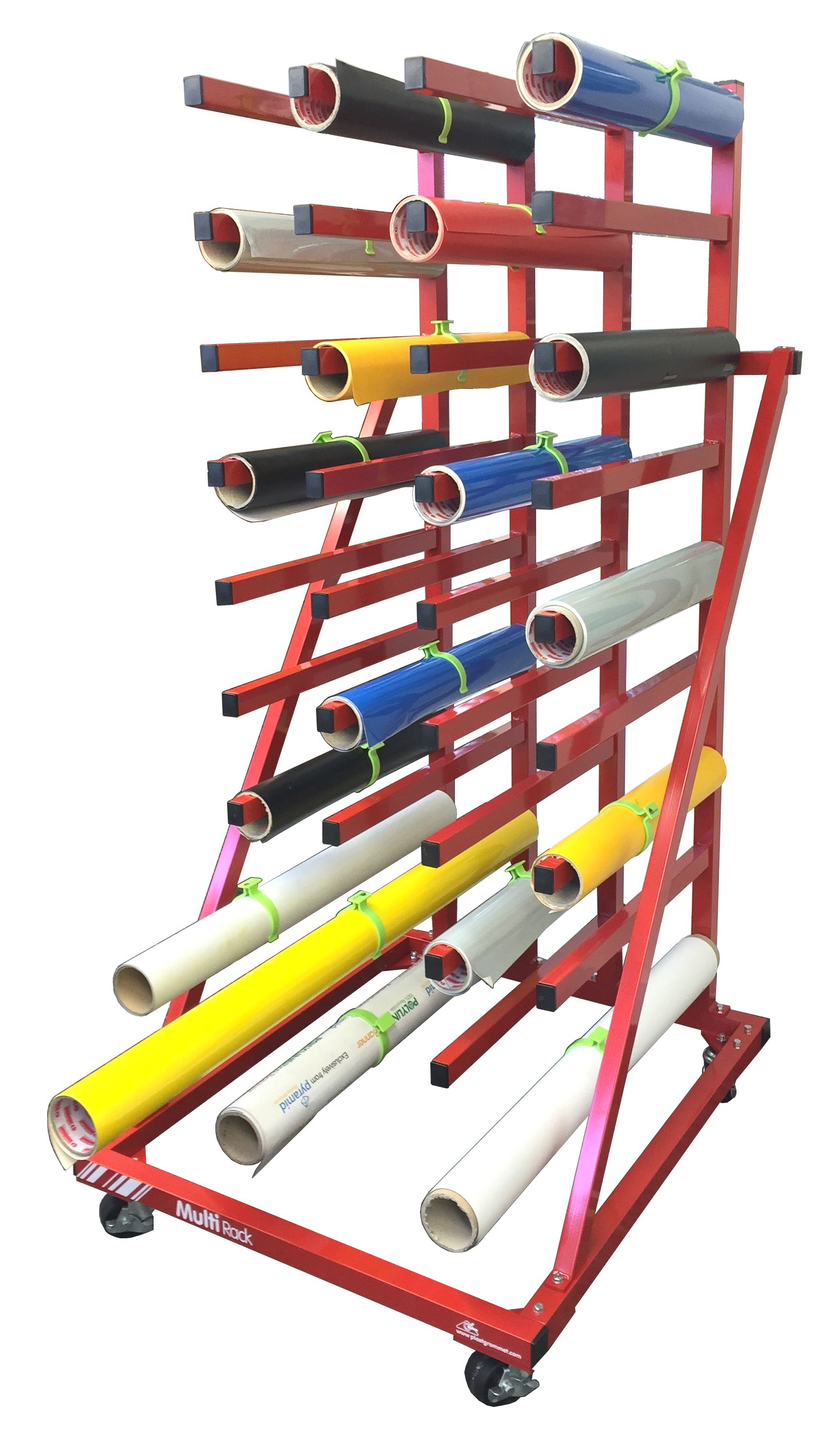 rolls vinyl ideas storage roll rack crafty