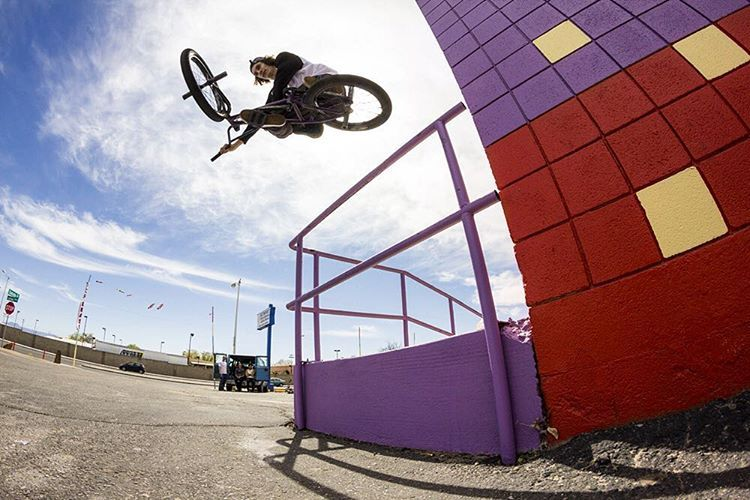 oppo tabes from yesterday, spot was cooool  pic @chadwalk !! #BMX #albuquerque #abq #tabes #theshadowconspiracy