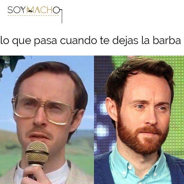 Lo que puede ocasionar que te dejes la barba #SoyMacho #soymacho #soymachomexico #mengrooming #mensaccesories #fashion #mensstyle #instafashion #menswear #barba #beard #beards #bearded #beardlife #beardgang #beardporn #beardedmen #instabeard #grooming #mensgrooming #malegrooming #mexico #mexicocity #mexico_maraviloso #vivamexico #igersmexico #mexicodf #cdmx