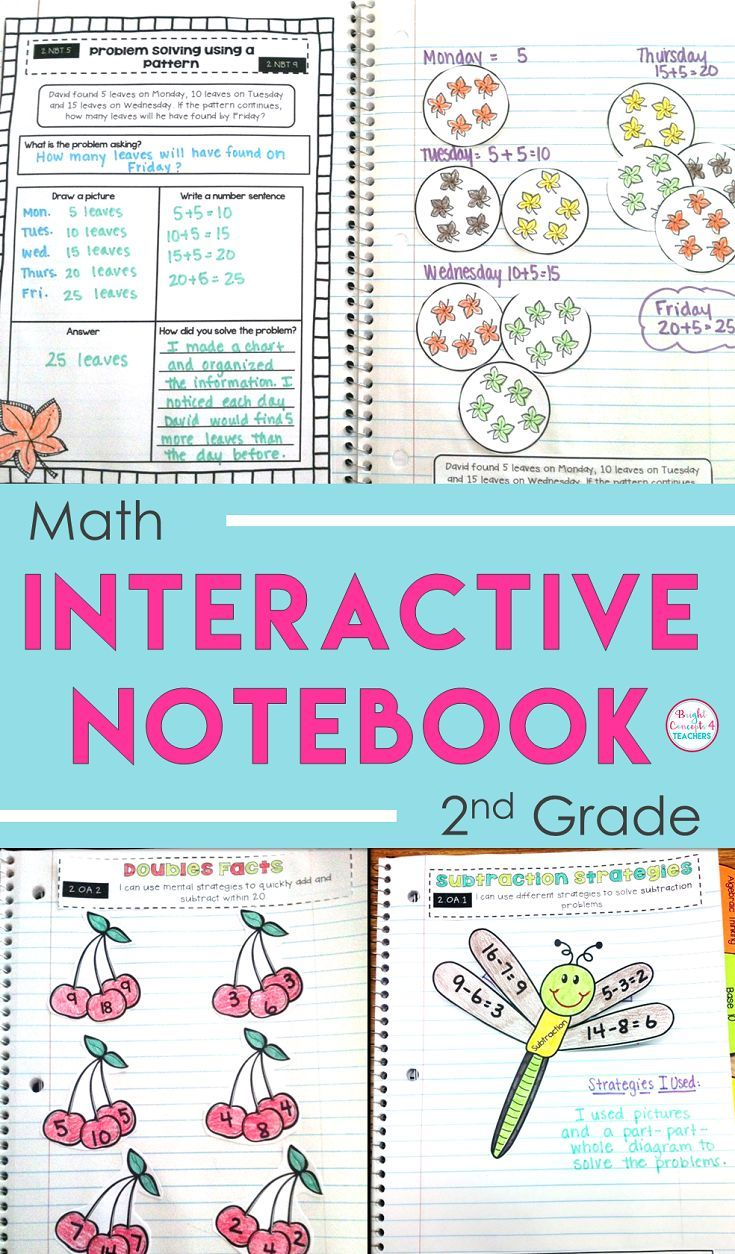 Interactive Notebooks Tips & Tricks: Part 4 | Subtraction strategies ...