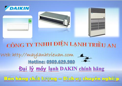 Tổng hợp các sản phẩm mới nhất của dòng máy lạnh daikin