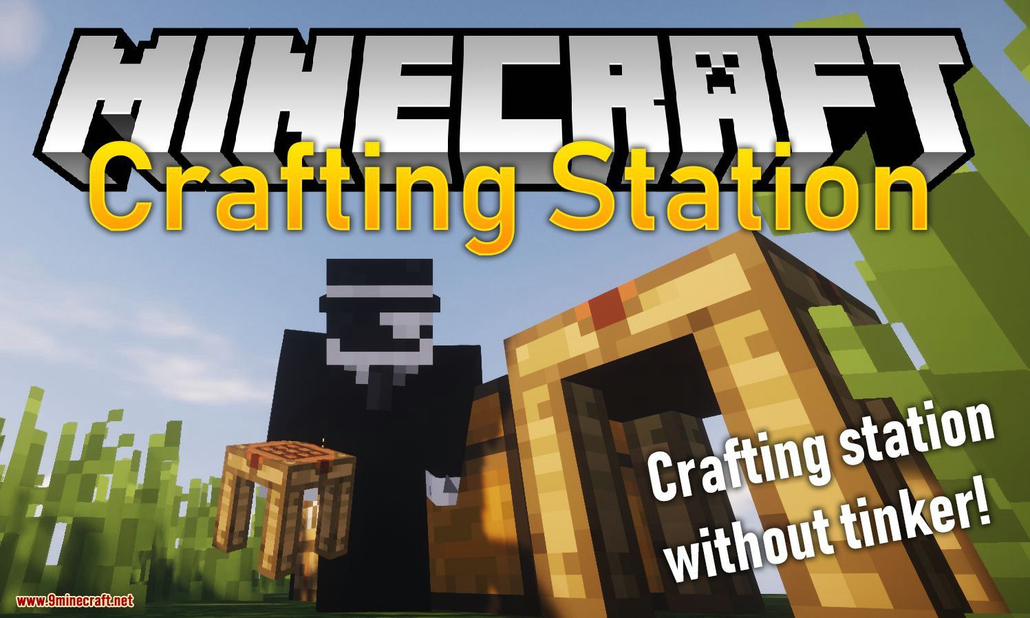 Crafting Station Mod 1 14 4 1 12 2 Crafting Station Without Tinkers Construct Minecraft1122mods Minecraft1144mods Mod Station Minecraft Mods