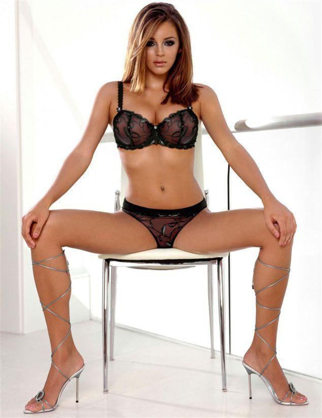 ass lingerie Keeley hazell