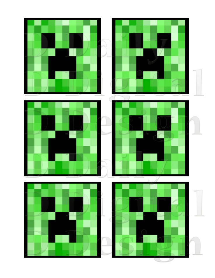 This is a graphic of Critical Free Printable Chevron Banner Minecraft