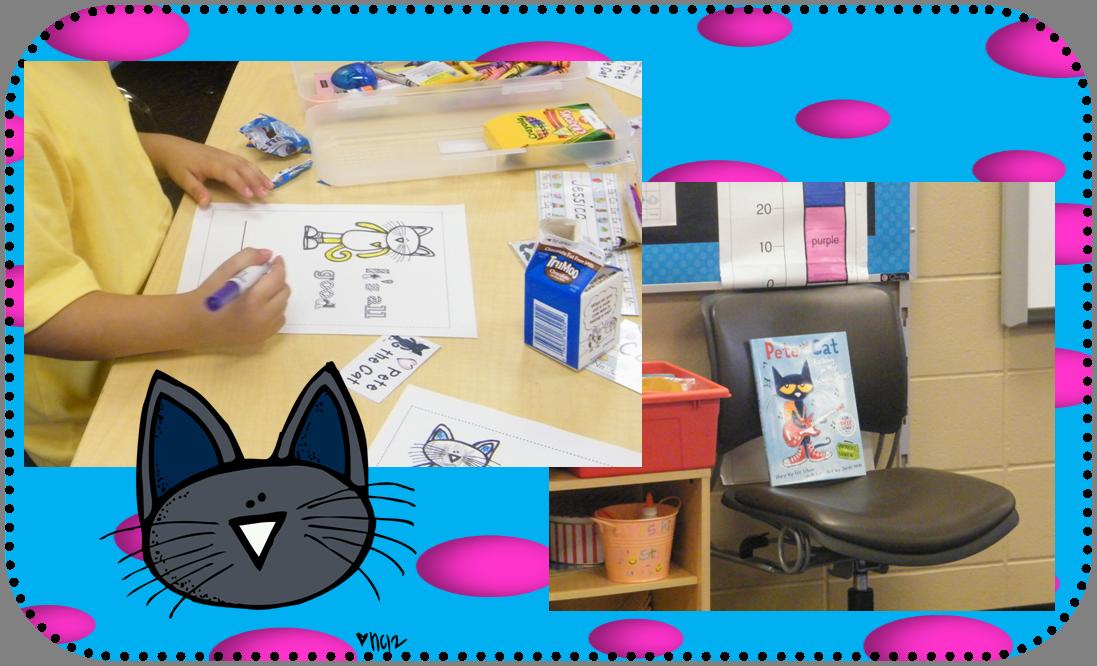 Inspired by Kindergarten Kindergarten, Pete the cat