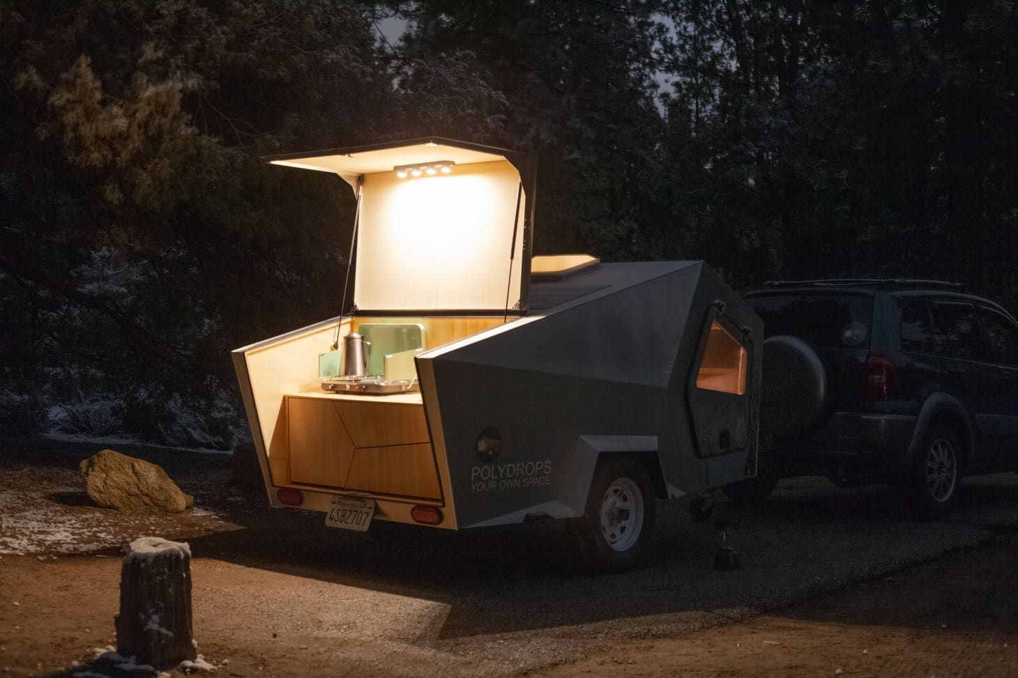This 9 000 Trailer Is A Cozy Otherworldly Sleep Space