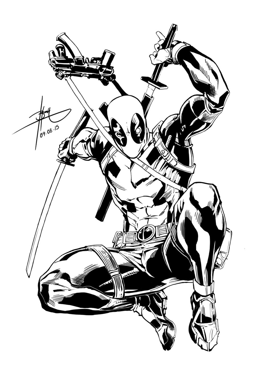 Deadpool | Digital Sketches | Pinterest