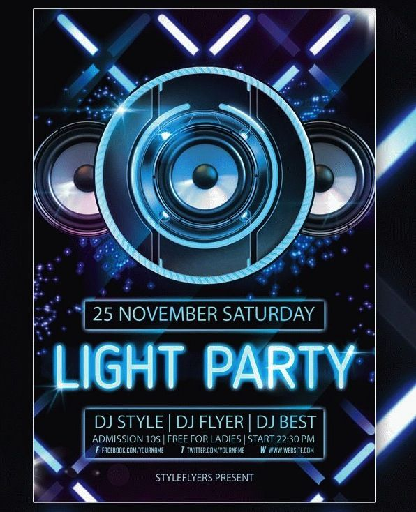 Creative Party And Club Flyers  Party Flyer