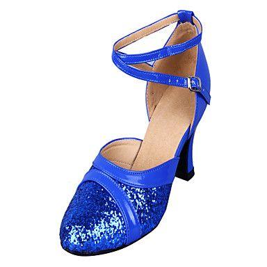 Zapatos de Baile Espectaculares para Mujer con Brillo (Varios Colores) -  USD   10.00 89fd2fd58dd