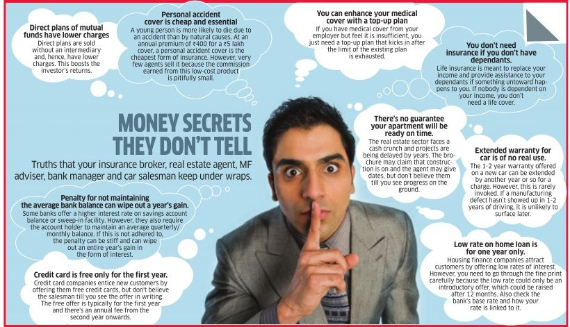 Money secrets they don\u0027t tellDirect plans,Personal accident cover