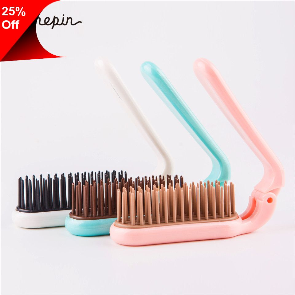 Only 2 89 Pocket Folding Brush Comb Easy Carry Pocket Folding