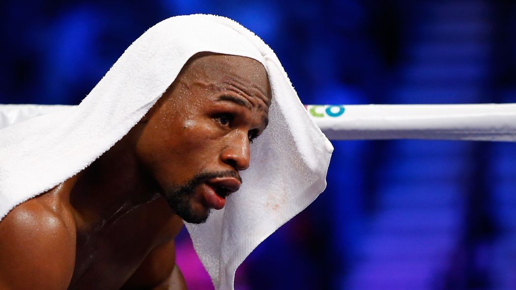 There are some rumors that Mayweather's last fight may be aired on free network television.