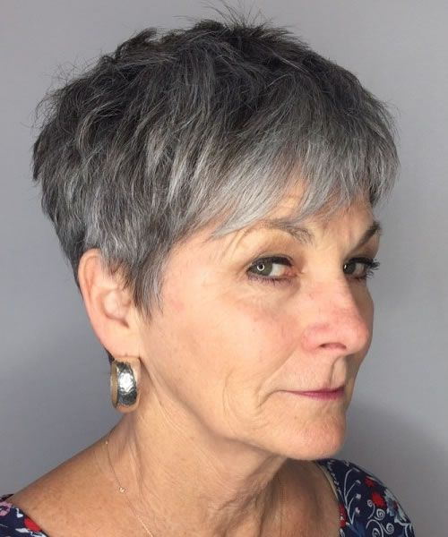 30 Pixie Cuts for Women over 60 with Short Hair in
