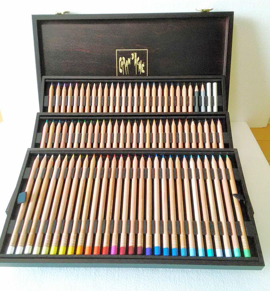 Caran D/'Ache Pablo Artists Quality Colour Pencils Set Metal Tin Water Resistant