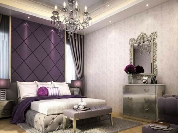 Youth Room Color Wall Color Aubergine Modern Wall Color Gray Bedroom Walls Grey Bedroom Decor Silver Bedroom