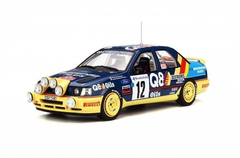 Ford Sierra 4x4 Monte Carlo Racing Cars Diecast Auto Models