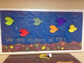 Blessings for Bible School Teachers: Bulletin Board: We are Fishers of Men
