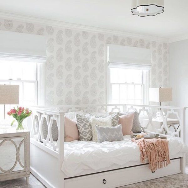 Elsie Daybed, Full, Simply White images