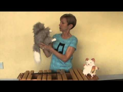 Lynn Kleiner's Puppets With a Purposes, Adagio the Cat! - YouTube
