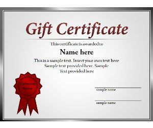 Free Certificate Powerpoint Template Is A Simple Certificate