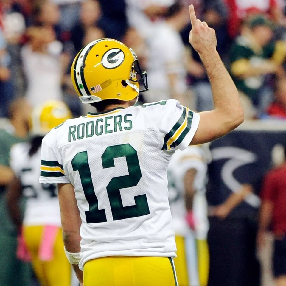 Number 12 Aaron Rodgers Hombres Hula Hula